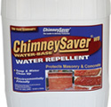 Chimney brick and mortar water proofing